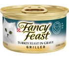 Purina Fancy Feast - All Breeds, Adult Cat. Grilled Turkey in Gravy Recipe. - Southern Agriculture