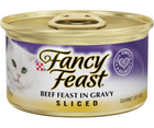 Purina Fancy Feast - All Breeds, Adult Cat. Sliced Beef in Gravy Recipe. - Southern Agriculture