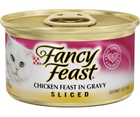 Purina Fancy Feast - All Breeds, Adult Cat. Sliced Chicken in Gravy Recipe. - Southern Agriculture