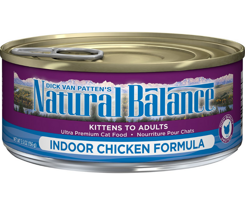 Natural Balance, Original Ultra - Indoor Cat Breeds, All Life Stages. Chicken Formula Recipe. - Southern Agriculture