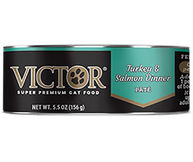 Victor - All Breeds, Adult Cat. Turkey and Salmon Dinner Pâté Recipe. - Southern Agriculture