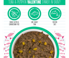 Weruva BFF, Valentine - All Cat Breeds, All Life Stages. Tuna & Pumpkin Dinner in Gravy. - Southern Agriculture
