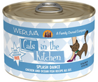 Weruva, Cats in the Kitchen - All Breeds, Adult Cat. Splash Dance, Grain-Free Chicken & Ocean Fish Recipe Au Jus. - Southern Agriculture