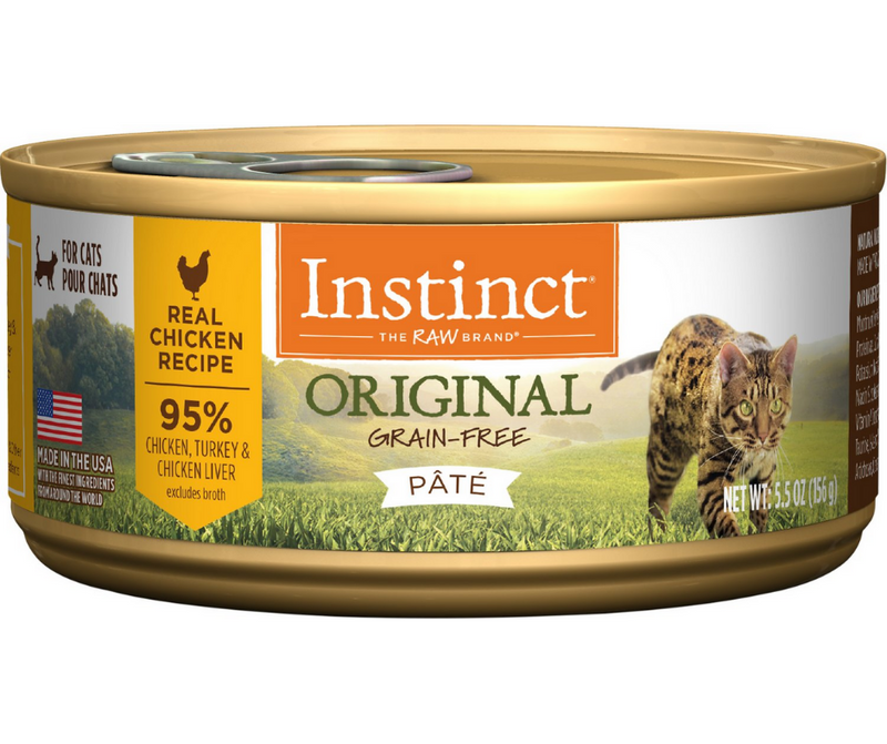 Nature's Variety, Instinct - All Breeds, Adult Cat. Original Grain Free, Real Chicken Recipe. - Southern Agriculture