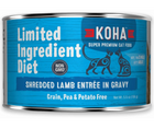 KOHA, Limited Ingredient Diet Shredded - All Breeds, Adult Cat. Lamb Entrée in Gravy Recipe. - Southern Agriculture