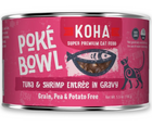 KOHA, Poké Bowl - All Breeds, Adult Cat. Tuna & Shrimp Entrée in Gravy Recipe. - Southern Agriculture