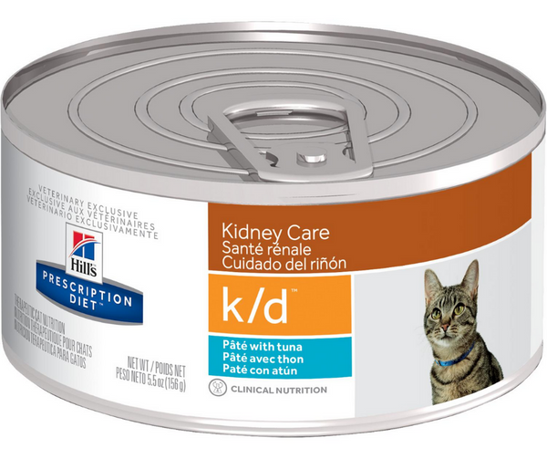 Hill's Prescription Diet, k/d. Kidney Care Feline with Tuna Formula. - Southern Agriculture