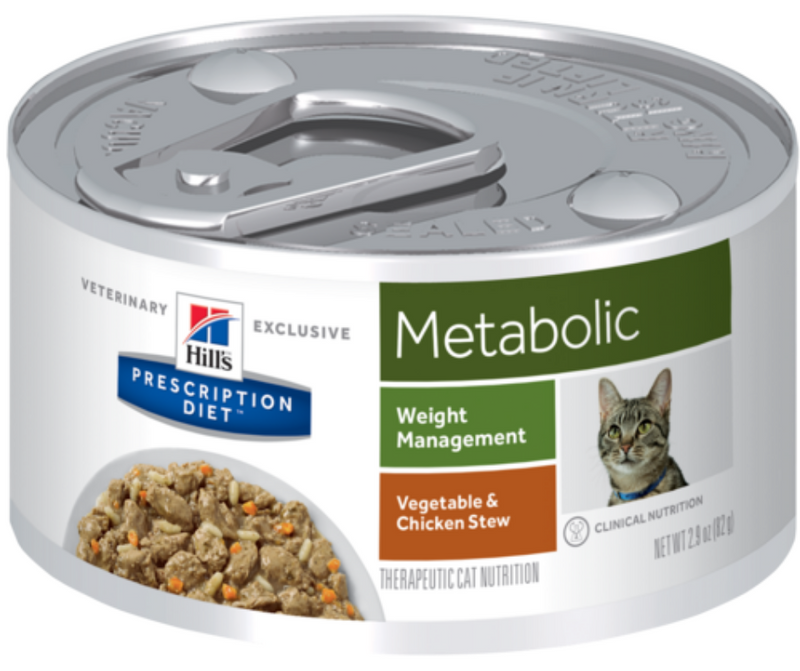 Hill's Prescription Diet - Metabolic. Weight Management Feline - Vegetable & Chicken Stew. - Southern Agriculture