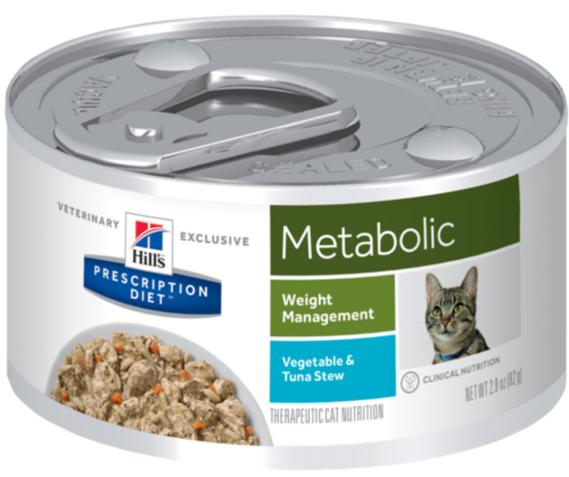 Hill's Prescription Diet - Metabolic. Weight Management Feline - Vegetable & Tuna Stew. - Southern Agriculture