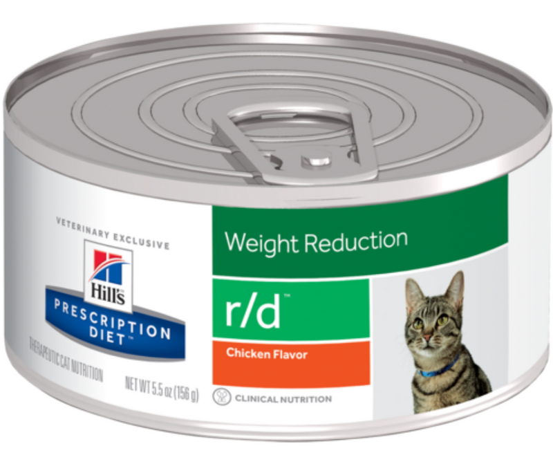 Hill's Prescription Diet - r/d. Weight Reduction Feline - Chicken. - Southern Agriculture