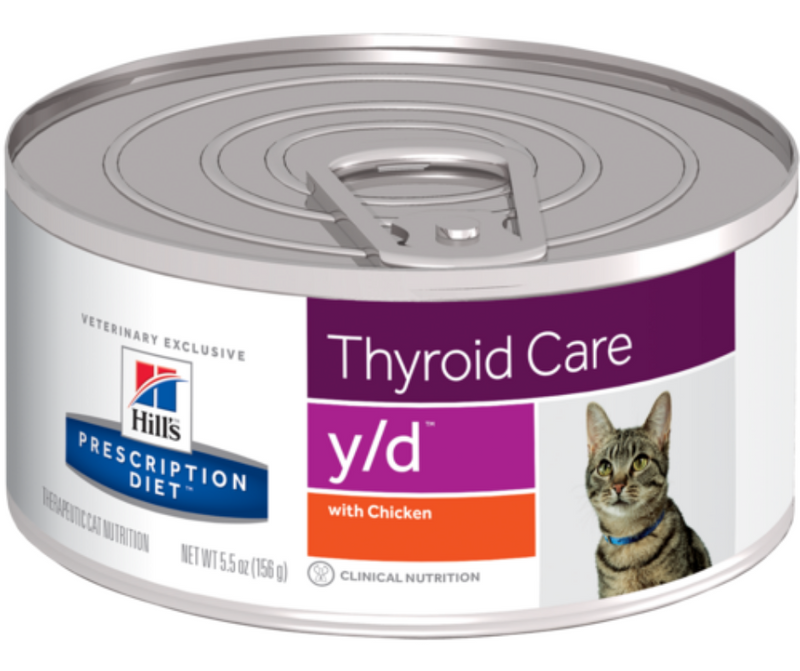 Hill's Prescription Diet - y/d. Thyroid Care Feline - Chicken. - Southern Agriculture