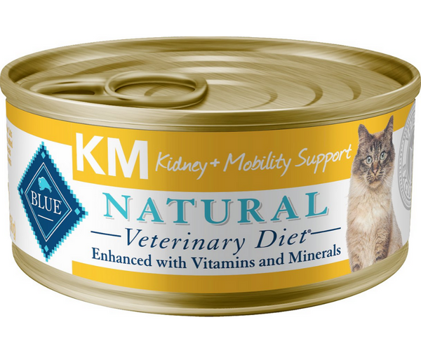 Blue Buffalo, BLUE Natural Veterinary Diet -  K+M. Feline Kidney + Mobility Support. - Southern Agriculture