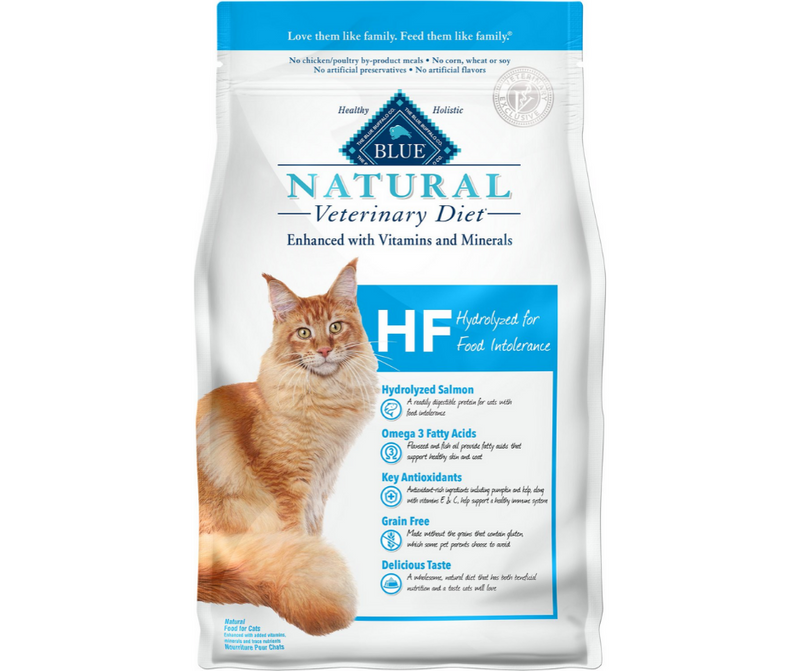 Blue Buffalo, BLUE Natural Veterinary Diet - HF. Feline Hydrolyzed for Food Intolerance. - Southern Agriculture