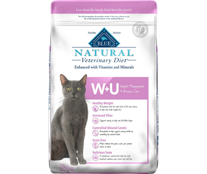 Blue Buffalo, BLUE Natural Veterinary Diet - W+U. Feline Weight Management + Urinary Care. - Southern Agriculture