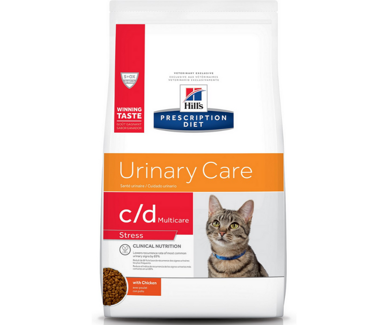 Hill's Prescription Diet - c/d. Urinary Stress Feline - Chicken. - Southern Agriculture
