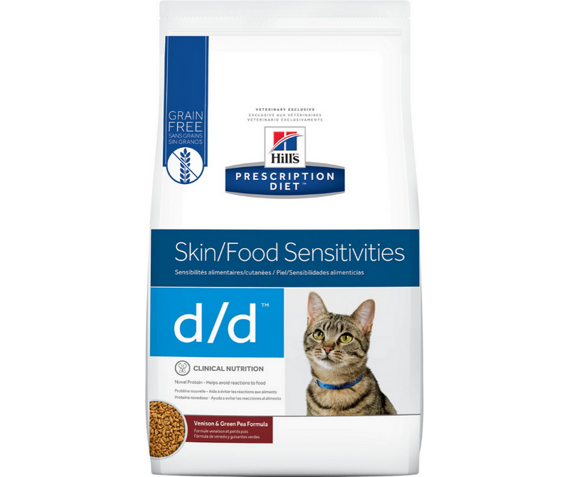 Hill's Prescription Diet - d/d. Skin & Food Sensitivities Feline - Venison & Green Pea Formula. - Southern Agriculture