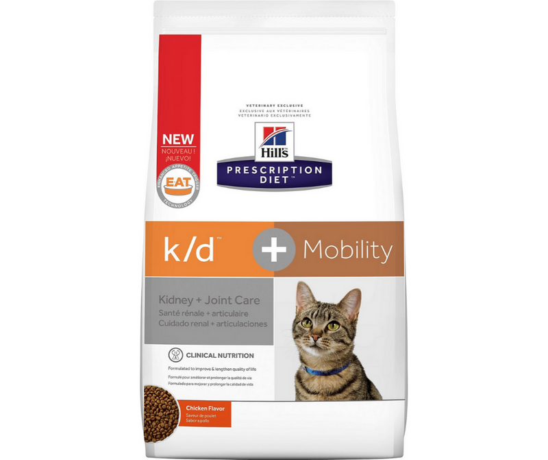 Hill's Prescription Diet - k/d + Mobility. Kidney & Joint Care Feline - Chicken. - Southern Agriculture