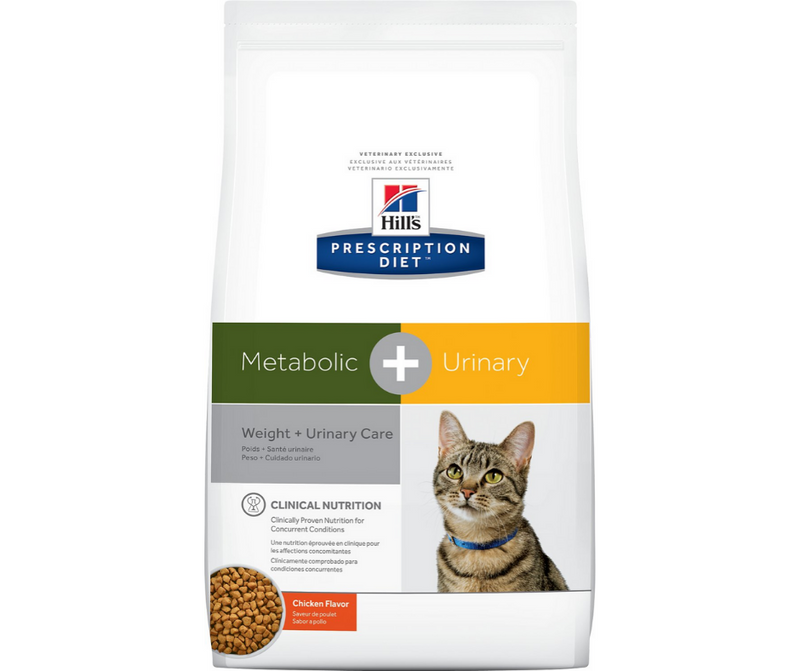 Hill's Prescription Diet - Metabolic + Urinary. Weight & Urinary Care Feline - Chicken. - Southern Agriculture