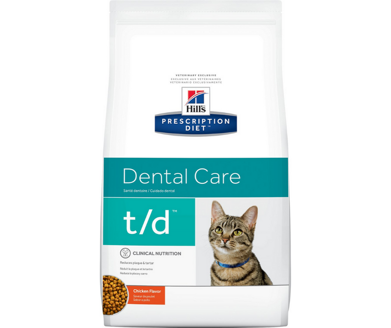 Hill's Prescription Diet - t/d. Dental Care Feline - Chicken. - Southern Agriculture