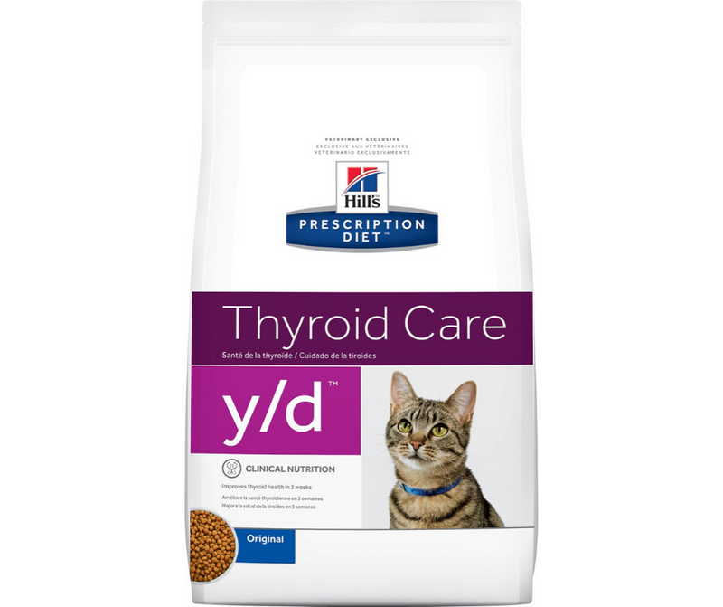 Hill's Prescription Diet - y/d. Thyroid Care Feline - Original. - Southern Agriculture