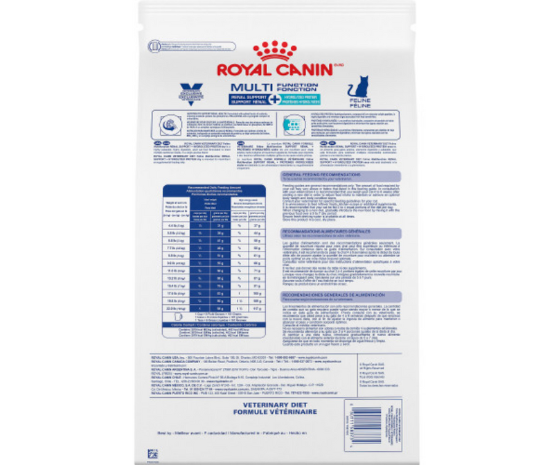 Royal Canin Veterinary Diet - Feline Multifunction. Renal Support + Hydrolyzed Protein. - Southern Agriculture