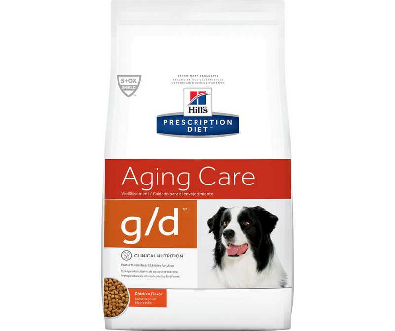 Hill's Prescription Diet - g/d. Aging Care - Chicken Flavor. - Southern Agriculture