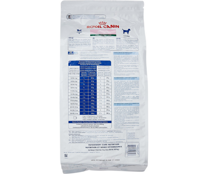 Royal Canin Veterinary Diet - Dental, Small Breed Formula. - Southern Agriculture