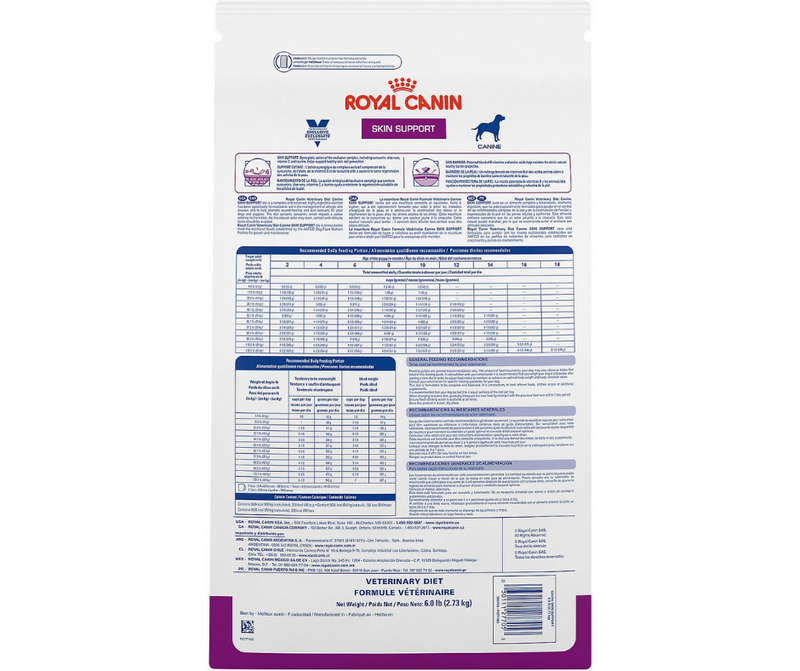 Royal Canin Veterinary Diet - Skin Support Formula. - Southern Agriculture