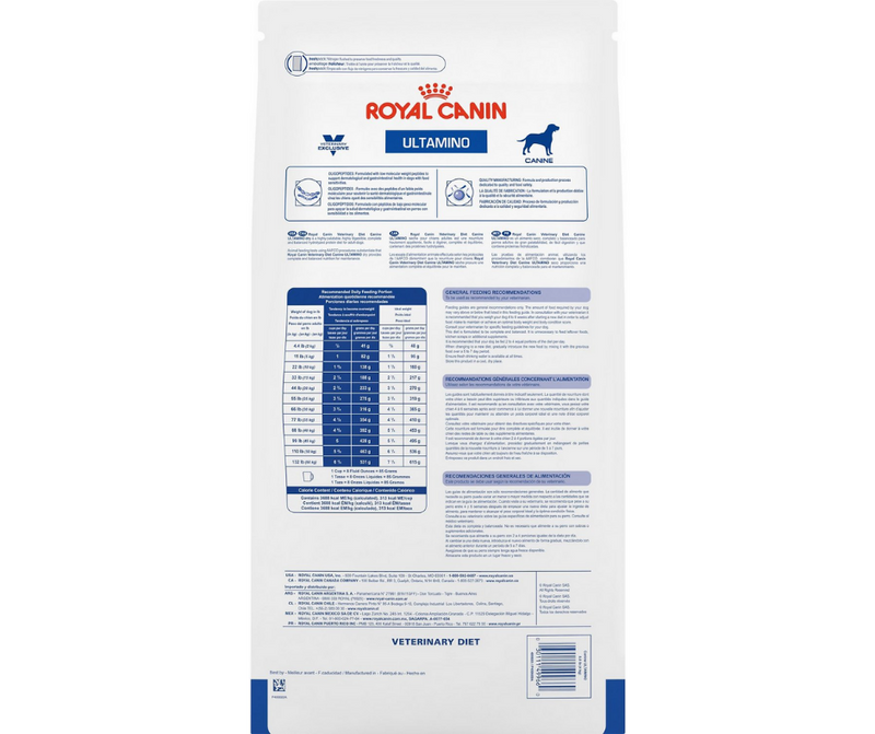 Royal Canin Veterinary Diet - Ultamino Formula. - Southern Agriculture