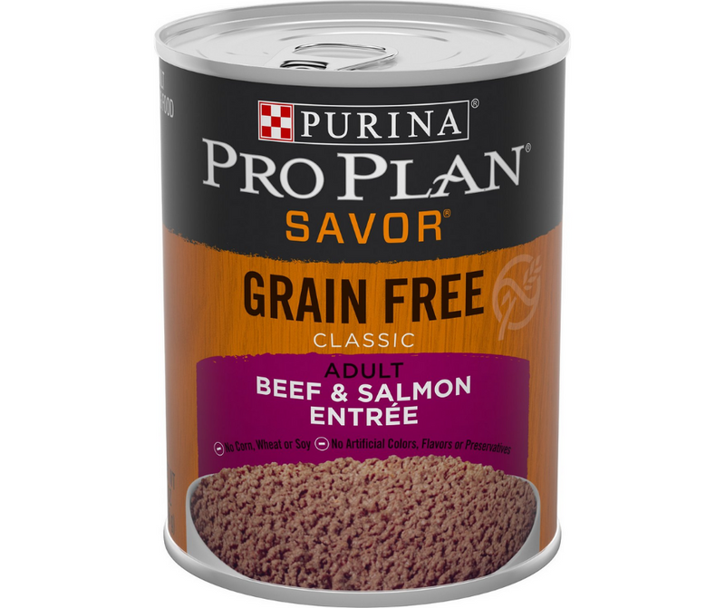 Purina Pro Plan Savor - All Breeds, Adult Dog. Classic Grain-Free Beef & Salmon Entree. - Southern Agriculture