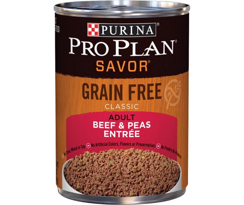 Purina Pro Plan Savor - All Breeds, Adult Dog. Grain-Free Beef & Peas Entree. - Southern Agriculture