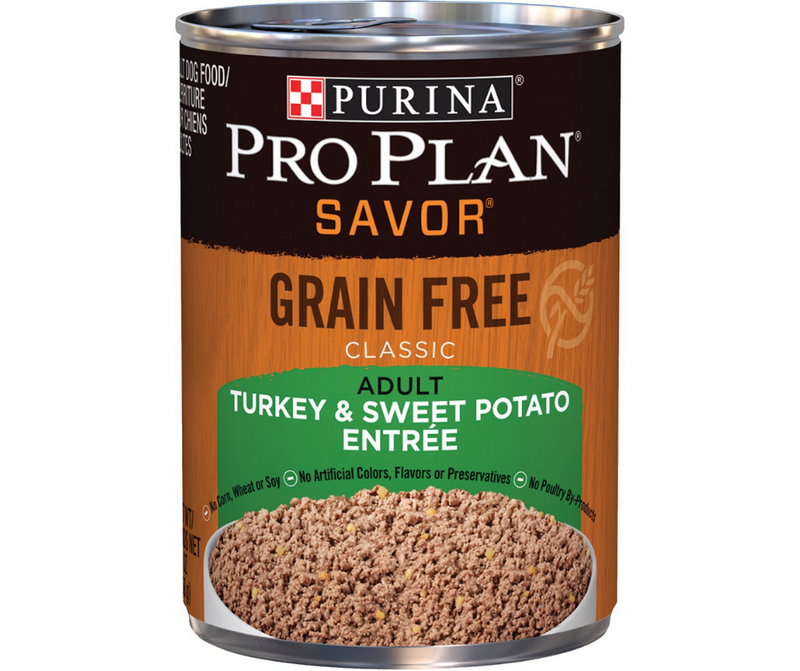 Purina Pro Plan Savor - All Breeds, Adult Dog. Grain-Free Classic Turkey & Sweet Potato Entree. - Southern Agriculture