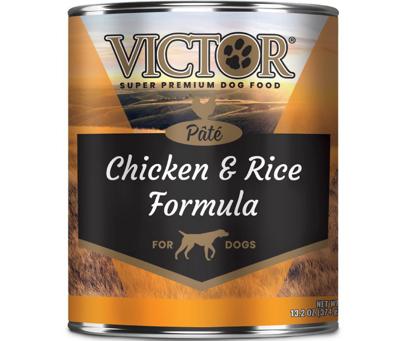 Victor - All Breeds, Adult Dog. Chicken & Rice Paté Formula. - Southern Agriculture