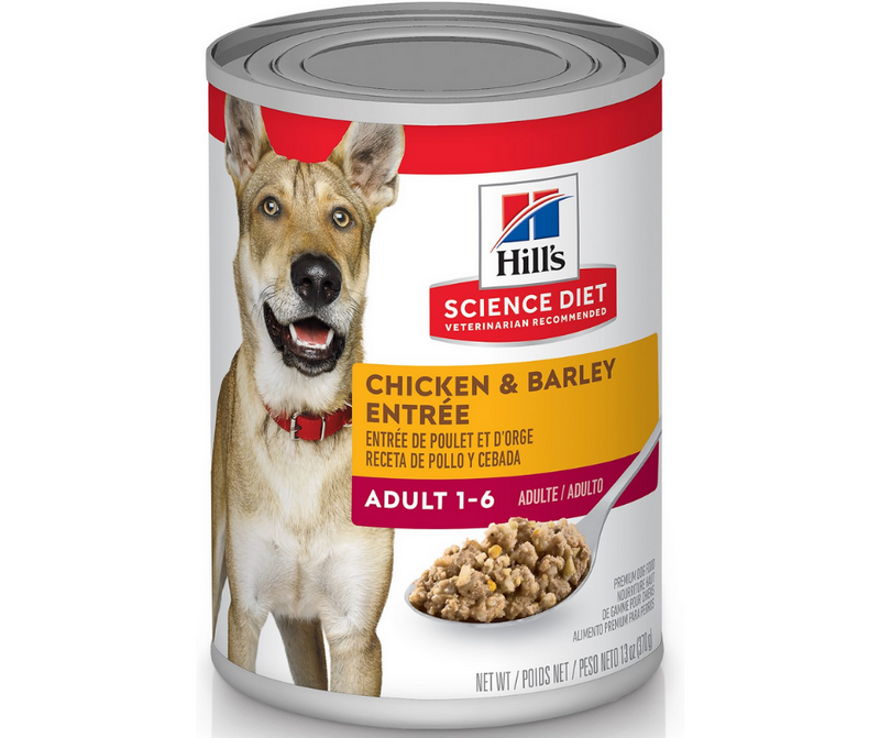 Hill's Science Diet - All Breeds, Adult Dog. Chicken & Barley Entree. - Southern Agriculture
