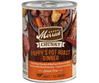 Merrick, Chunky Grain Free - All Breeds, Adult Dog. Pappy's Pot Roast Dinner in Gravy. - Southern Agriculture