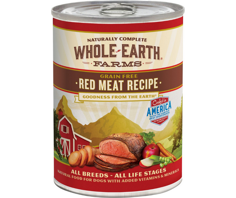 Whole Earth Farms - All Dog Breeds, All Life Stages. Grain-Free Red Meat Recipe. - Southern Agriculture