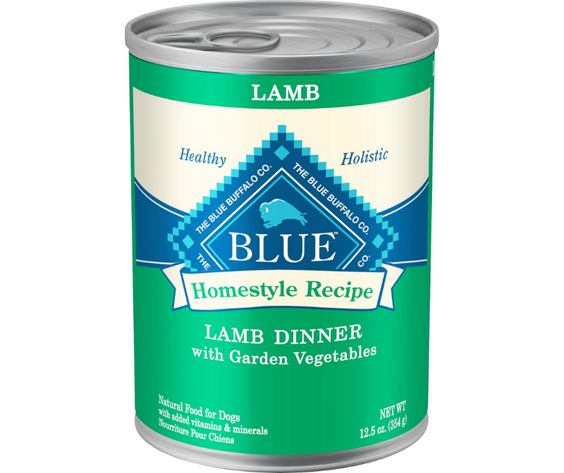 Blue Buffalo, Homestyle Recipe - All Breeds, Adult Dog. Lamb Dinner with Garden Vegetables. - Southern Agriculture