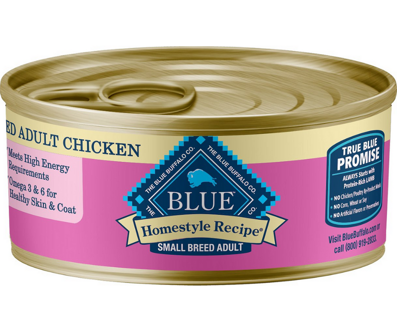Blue Buffalo, Homestyle Recipe - Small Breed, Adult Dog. Chicken Dinner Recipe. - Southern Agriculture