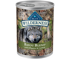 Blue Buffalo, Wilderness - All Breeds, Adult Dog. Bayou Blend - Alligator & Catfish Recipe. - Southern Agriculture