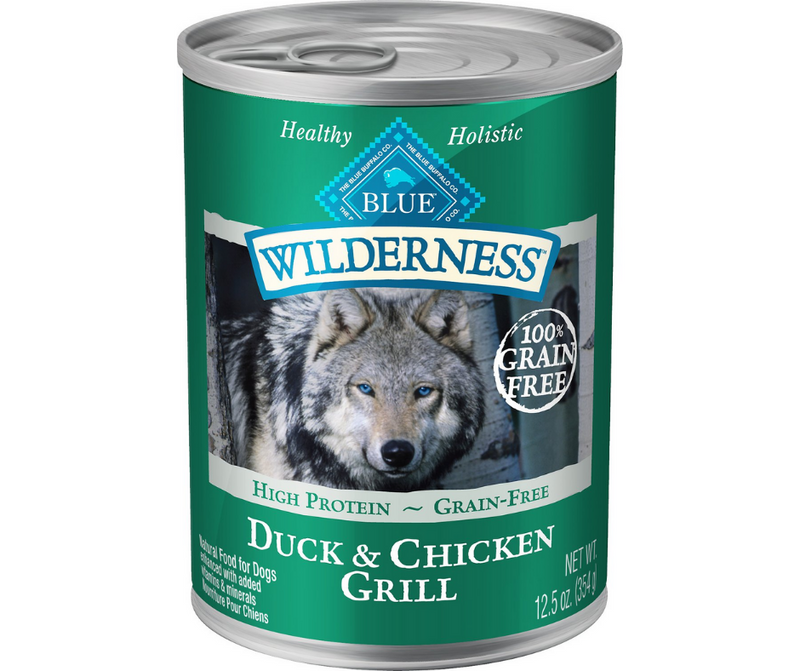 Blue Buffalo, Wilderness - All Breeds, Adult Dog. Grain-Free Duck & Chicken Grill Recipe. - Southern Agriculture