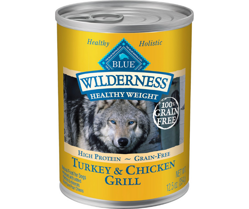 Blue Buffalo, Wilderness - Overweight Breeds, Adult Dog. Healthy Weight - Grain Free Turkey & Chicken Grill Recipe. - Southern Agriculture