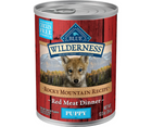 Blue Buffalo, Wilderness - All Breeds, Puppy. Rocky Mountain Recipe, Grain-Free Red Meat Dinner. - Southern Agriculture