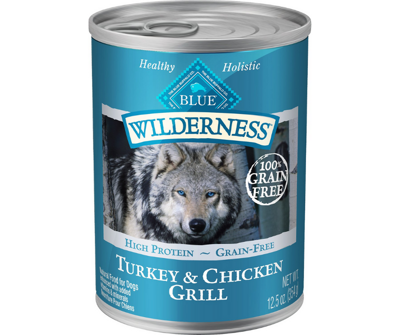 Blue Buffalo, Wilderness - All Breeds, Adult Dog. Grain-Free Turkey & Chicken Grill Recipe. - Southern Agriculture