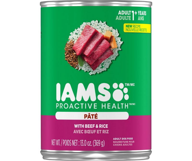 Iams, ProActive Health - All Breeds, Adult Dog. Beef & Rice Pate. - Southern Agriculture