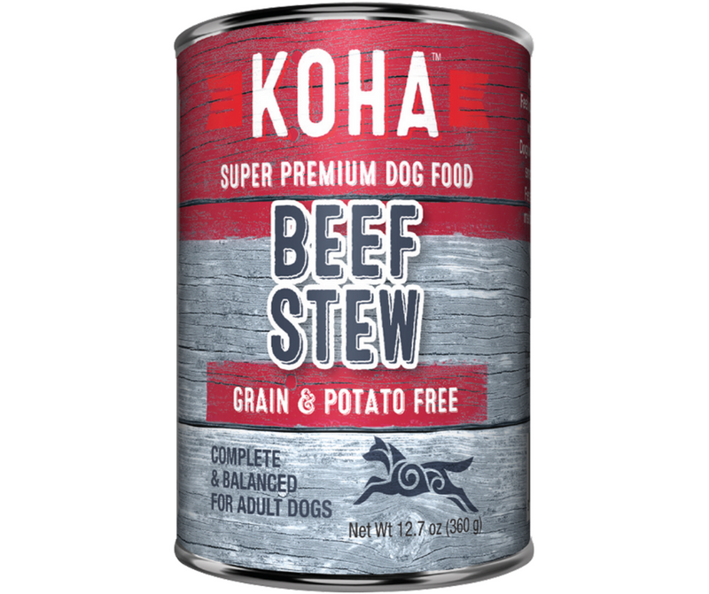 KOHA, Minimal Ingredient - All Breeds, Adult Dog. Beef Stew Recipe. - Southern Agriculture