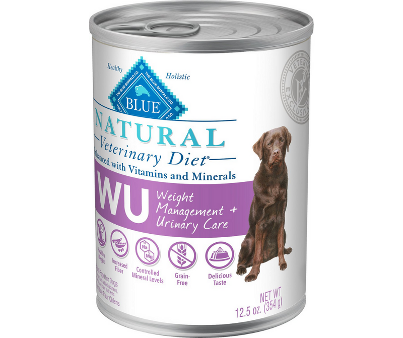 Blue Buffalo, BLUE Natural Veterinary Diet - W+U Weight Management + Urinary Care. - Southern Agriculture