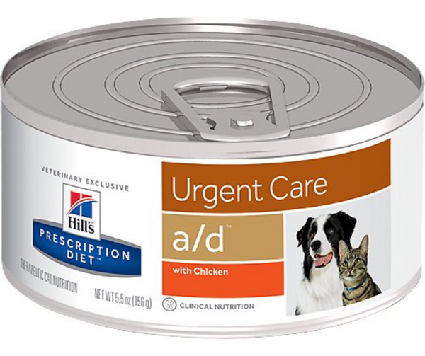 Hill's Prescription Diet - a/d. Urgent Care - Chicken Formula. - Southern Agriculture