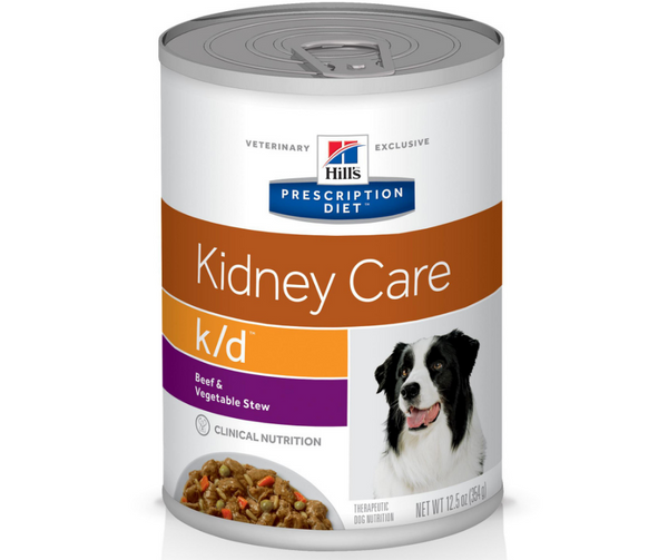 Hill's Prescription Diet - k/d. Kidney Care - Beef & Vegetable Stew Formula. - Southern Agriculture