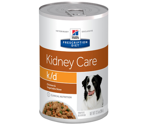 Hill's Prescription Diet - k/d. Kidney Care - Chicken & Vegetable Stew Formula. - Southern Agriculture