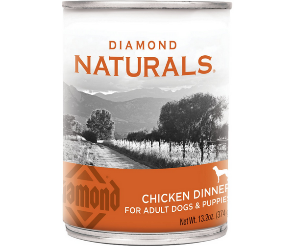 Diamond, Naturals - All Dog Breeds, All Life Stages. Chicken Dinner. - Southern Agriculture